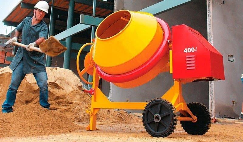 Aluguel de máquinas para construção civil