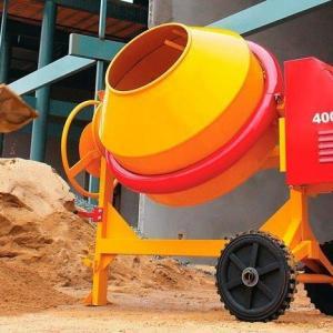 Locação de betoneira